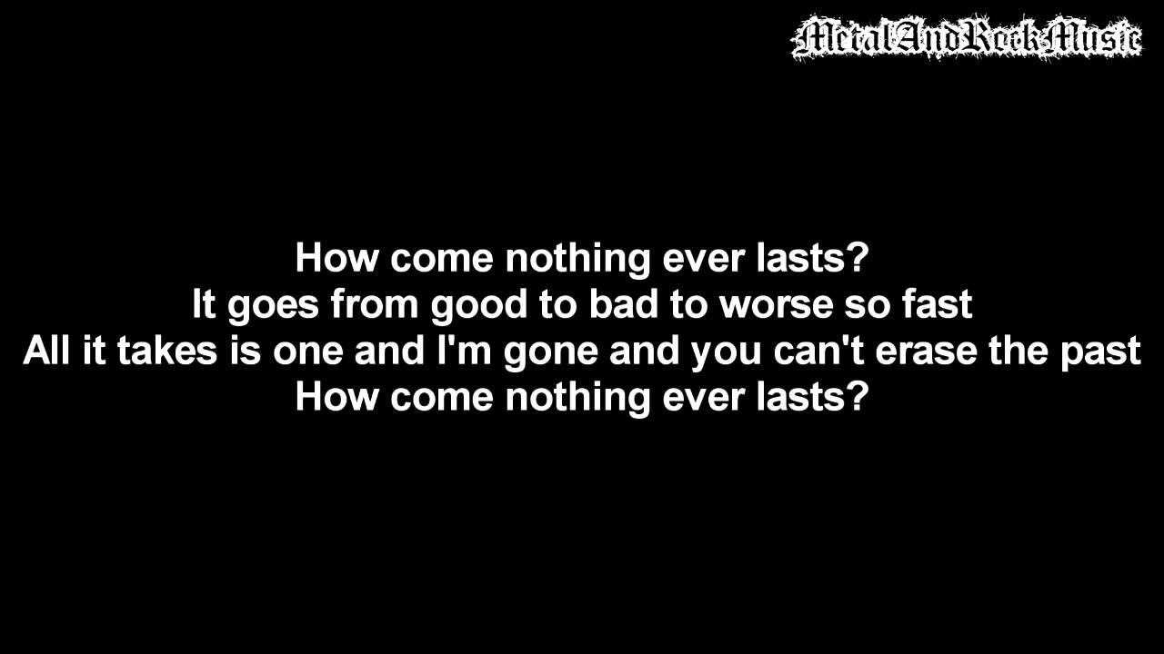 Download Three Days Grace - Tell Me Why | Lyrics on screen | HD