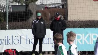 Final Mariehamn cup 26 3 2017, IFK Ingarö IF Halvlek 2