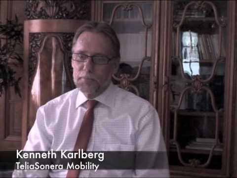 Kenneth Karlberg (Telia Sonera) speaks in Riga