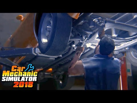 Hot Moms And Free Brake Jobs - New Tire Machines -  Car Mechanic Simulator 2018 First Job