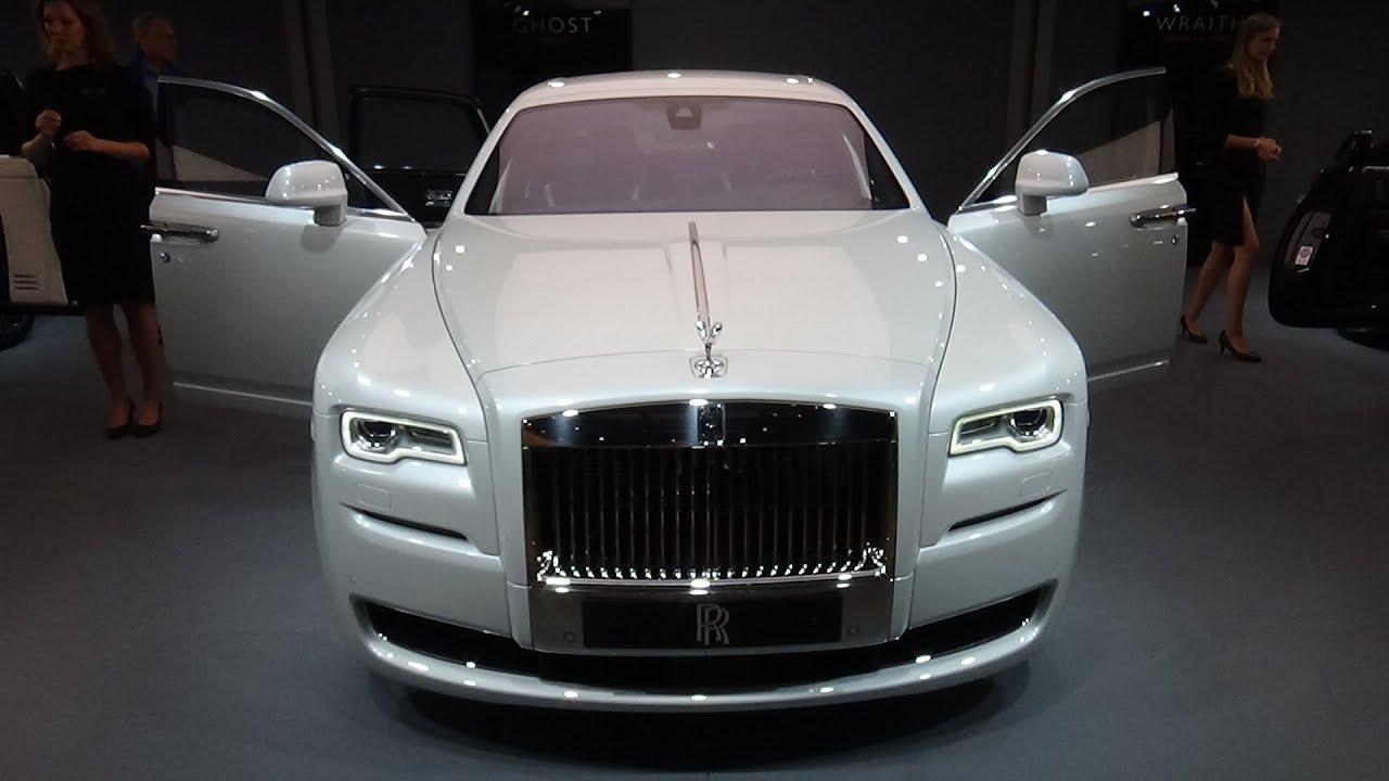 2016 Rolls Royce Ghost Series Ii Exterior And Interior Iaa Frankfurt 2017