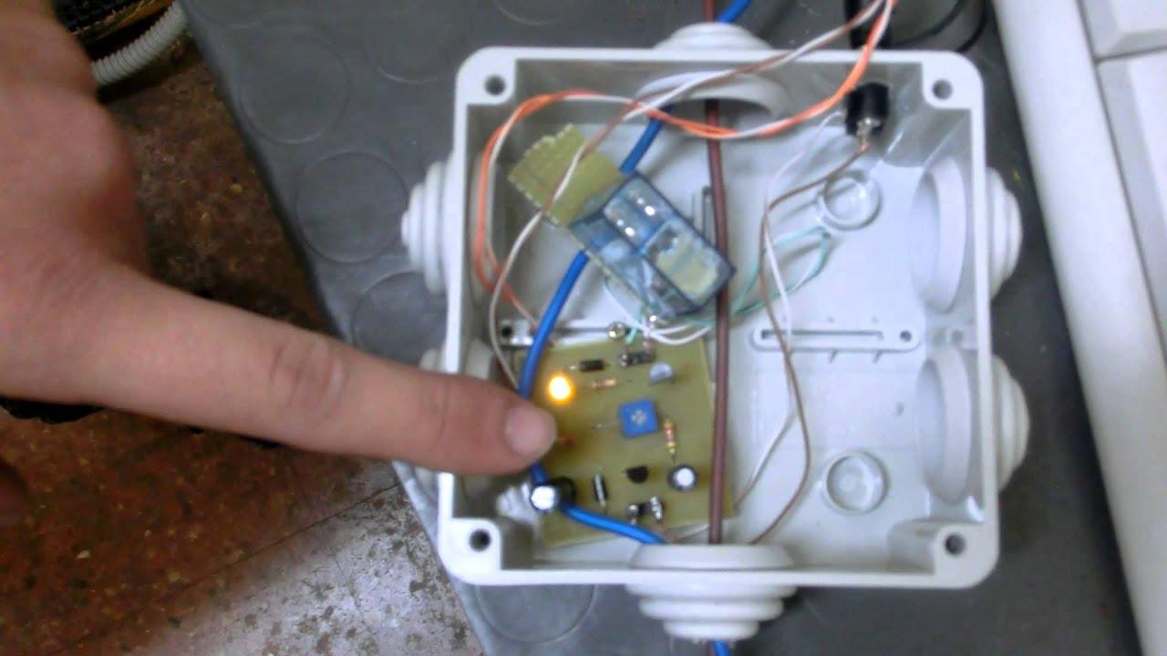 Schema Elettrico Interruttore Crepuscolare 230v : Granata angelo be interruttore crepuscolare youtube