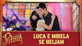 Luca e Mirela se beijam | As Aventuras de Poliana