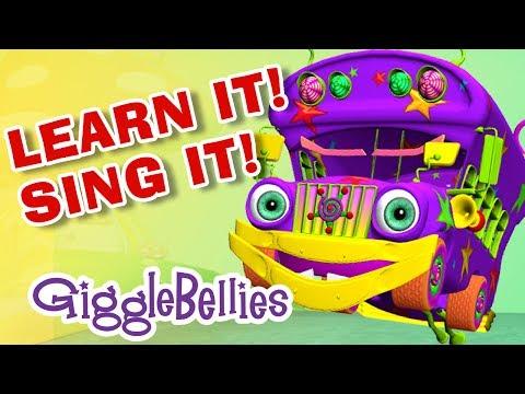 Wheels On The Bus Sing-A-Long |  Nursery Rhymes | GiggleBellies