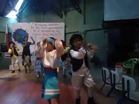 Arwen Charlize Madarang dancing in Bright Beginnings Learning Center's UN program