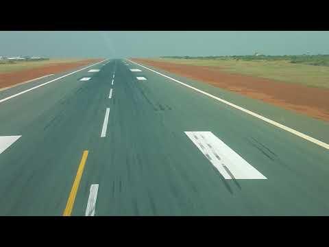 An124 100 Landing Bamako Mali