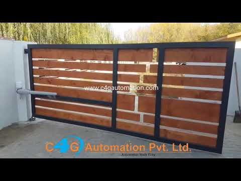 Automatic Compound Wood Gate