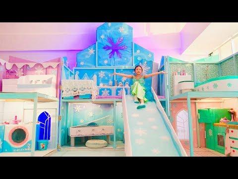 Bug New Princess Frozen Bedroom !