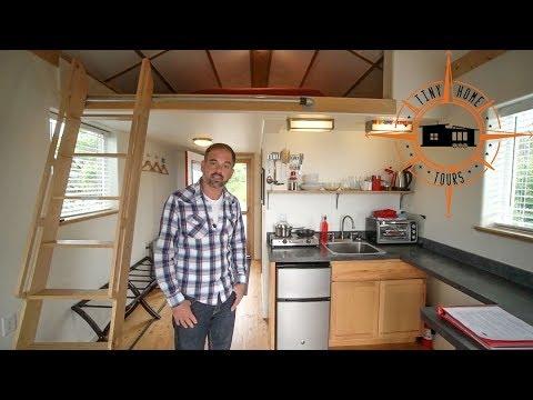 Awesome Self Designed & Built Alaskan Tiny House ~ DIY Building