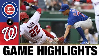 Cubs vs. Nationals Game Highlights (8/1/21)