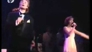 "Bobbie Eakes & Jeff Trachta  ""Run To Me"" (Bee Gees) ((STEREO))"