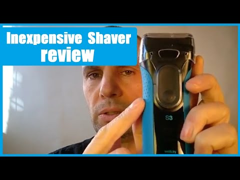 Braun S3  Shaver Review On Walmart And Amazon