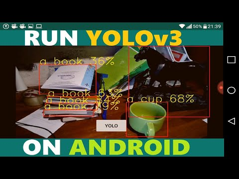 Run YOLOv3 on Android with OpenCV (Custom Trained YOLO too