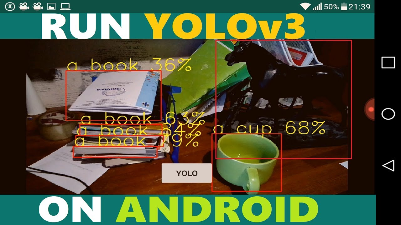 Run YOLOv3 on Android with OpenCV (Custom Trained YOLO too) || Android Deep  Learning with OpenCV #6