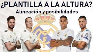 Análisis del fondo de armario del REAL MADRID: ¿Le da está plantilla para ganar títulos?