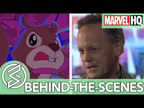 Who Are Tippy-Toe and Lockjaw? With Dee Bradley Baker | Marvel Rising | FEATURETTE streaming vf
