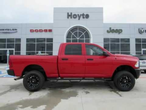 Hoyte Dodge Durant Ok >> 2016 Dodge Ram 2500 4X4 Crew Cab Tradesman Red New Truck For Sale Hugo OK - YouTube