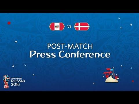 FIFA World Cup™ 2018: Peru V. Denmark Post Match PC