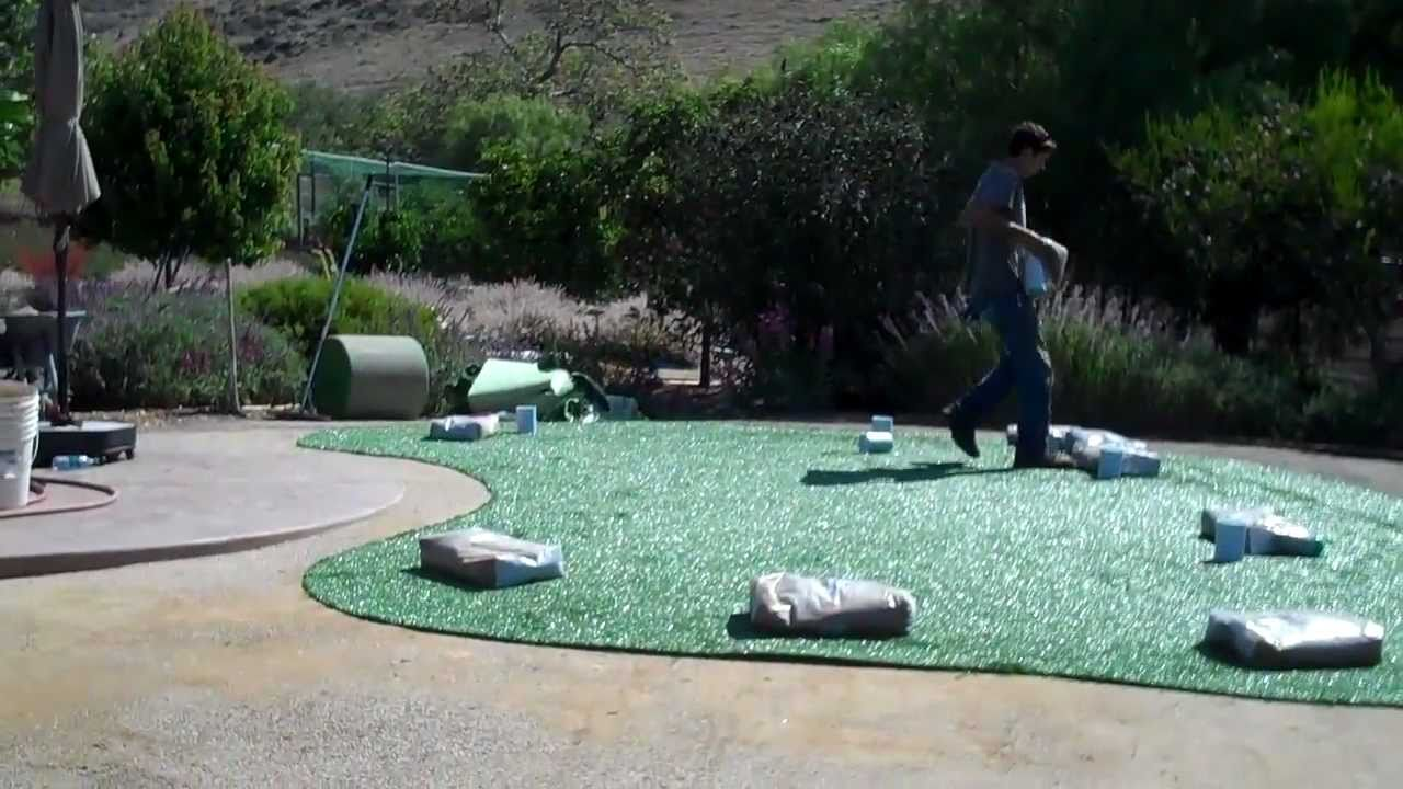 building a home practice green youtube
