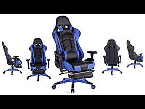 top gamer ergonomic gaming chair unboxing and build youtube. Black Bedroom Furniture Sets. Home Design Ideas