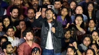 JNU President Kanhaiya Kumar's full speech after getting bail HD| The Lallantop