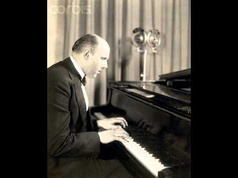 Walter Gieseking plays Bach Italian Concerto BWV 971