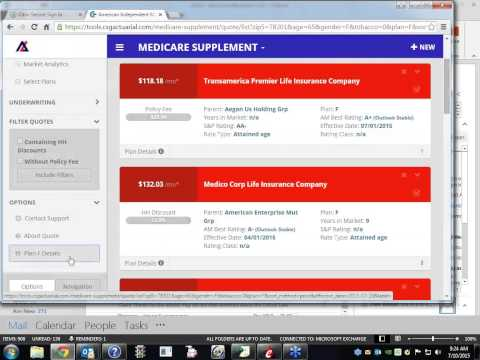 Medicare Supplement Quote Engine Turbocharged! 7-10-2015