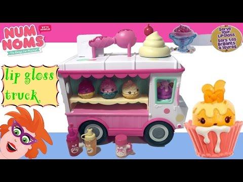 👄💄DIY Num Noms Glossy Gloss Lipgloss Truck Playset Craft Kit - maak je eigen lipgloss!👄💄