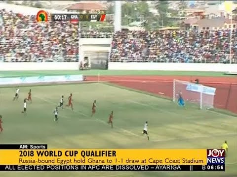 2018 World Cup Qualifier - AM Sports on JoyNews (13-11-17)