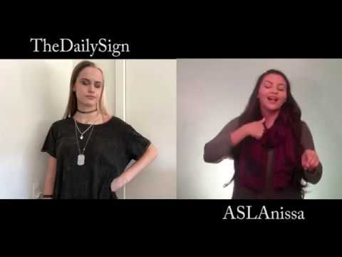 Anything You Can Do (ft. ASLAnissa) Sign Language