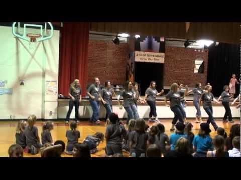 Heyworth Elementary School Flash Mob during Talent Show 2012