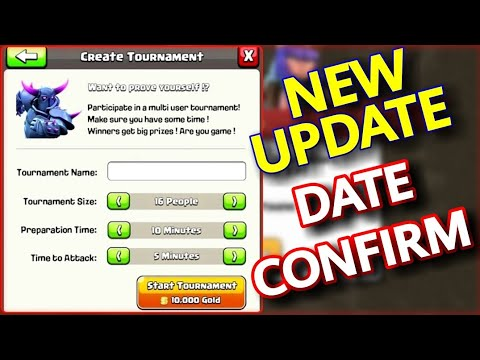 Clash of Clans Upcoming Update 2018 Date Confirm! New Troop, Daily Rewards & More