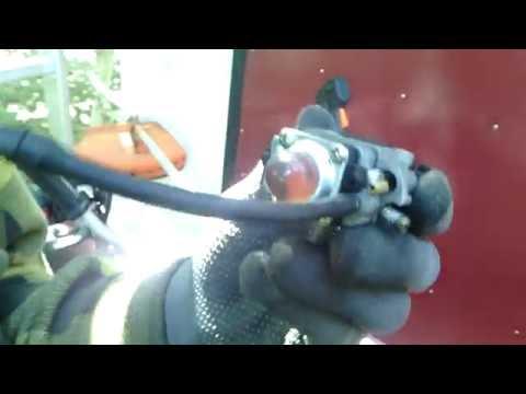 Ремонт карбюратора триммера своими руками видео