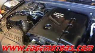 2009-2014 Audi A4 A3 Q5 VW Jetta GTI 2.0T tsi motor oil change and level check DIY by Edge Motors