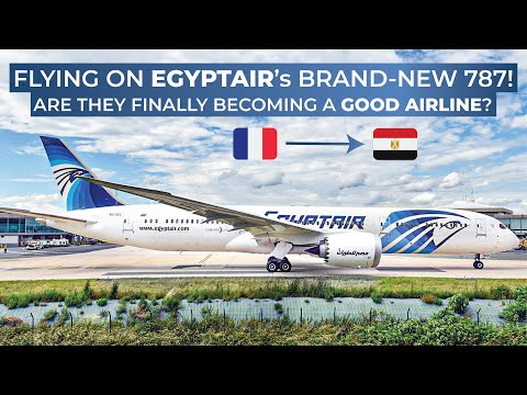 TRIPREPORT   Egypt Air (ECONOMY)   Boeing 787-9   Paris CDG - Cairo