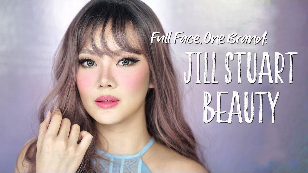 Full Face One Brand Makeup Tutorial: JILL STUART Beauty