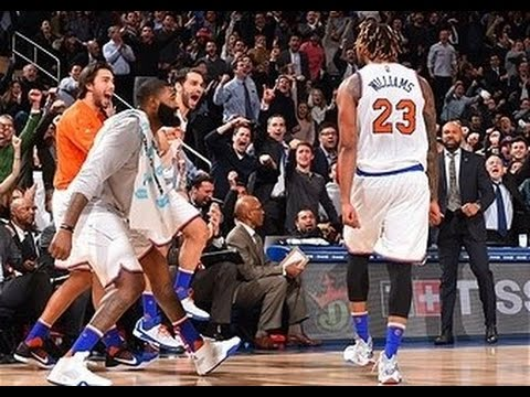 Utah Jazz vs New York Knicks - January 20, 2016