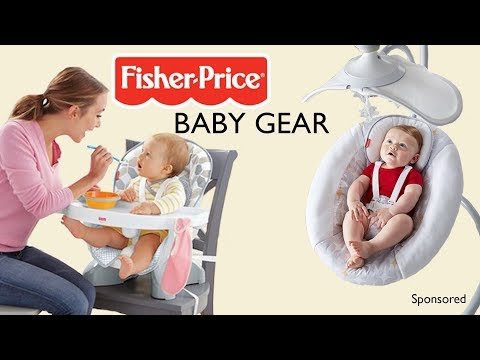 New Fisher-Price Baby Gear To Transition Into Parenthood!