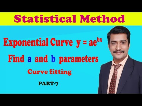 VTU Engineering Maths 3 Exponential curve fitting good example(PART-7)