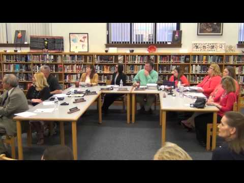 April 25th, 2016 Holland Board of Education Meeting
