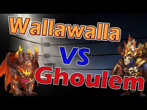 Ghoulem Vs Wallawalla-Who's The Best Healer??? Castle Clash