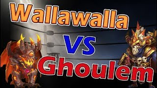 Ghoulem vs Wallawalla-Who's the Best Healer??? Castle Clash
