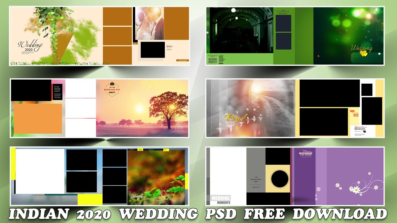 Indian 2020 Karizma Album 12x36 Psd Templates Free download | srinu photo editing.