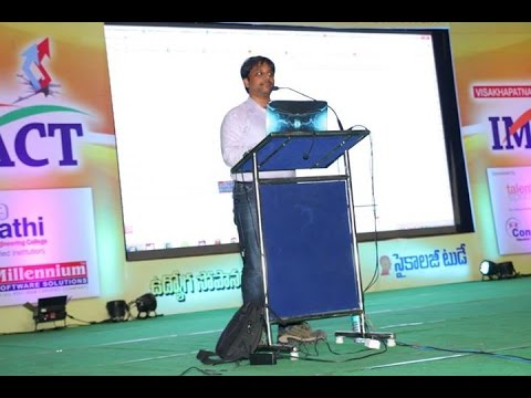 Ways to Earn Money Online By Sai Satish at Vizag Impact 2014