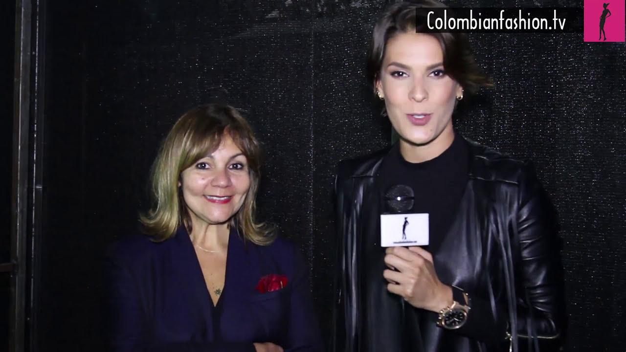BFW17 Entrevista Lina Cantillo