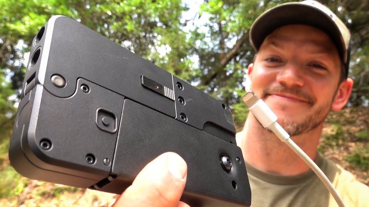 Download Looks Like a Phone... BUT IT'S DEFINITELY NOT A PHONE!!! Cellphone Gun
