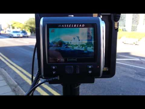 CFV-50c Digital Back on the Alpa 12 STC showing live view ...