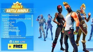 How To Get SEASON 5 BATTLE PASS FOR FREE IN FORTNITE!