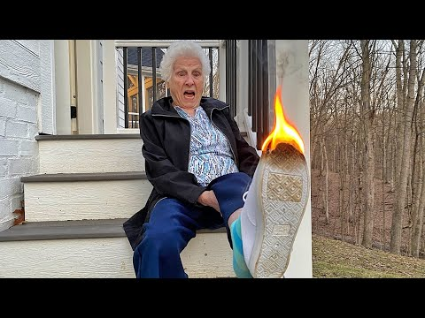 Grandma Catches On Fire | Ross Smith