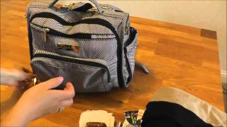 JuJuBe BFF Packed Toddler and Baby - What's in my bag?